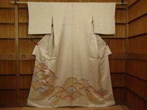 一つ紋色留袖